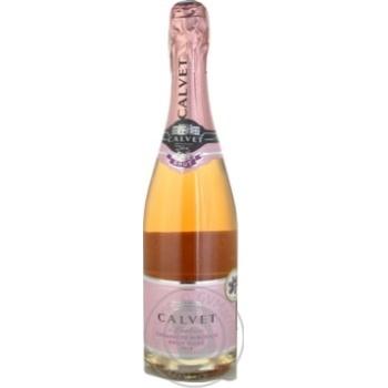 Вино игристое Calvet Cremant de Bordeaux Brut Rose розовое сухое 10,5% 0,75л