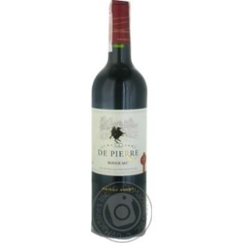 Вино Chevalier de Pierre Rouge Sec червоне сухе 12% 0,75л