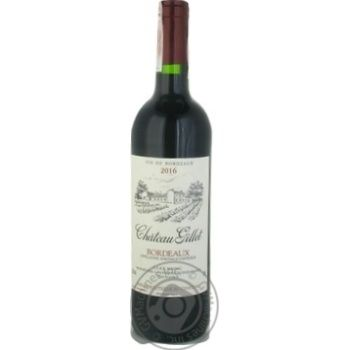 Chateau Gillet Bordeaux red dry wine 12.5% 0,75l - buy, prices for CityMarket - photo 1