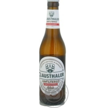 Пиво Clausthaler безалкогольное нефильтрованное 0,33л