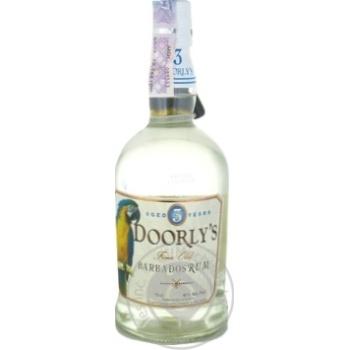 Doorly`s White 3 yrs Rum 40% 0,7l - buy, prices for Novus - image 1
