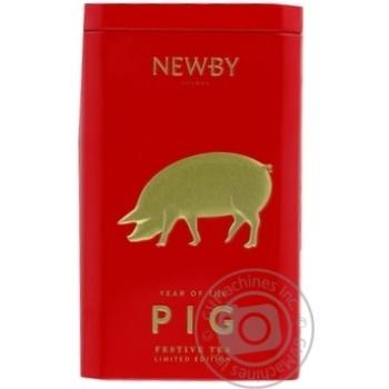 Чай Newby Святковий  Рік Свині ж/б 125г