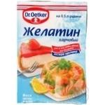 Желатин Dr. Oetker пищевой 9г - купить, цены на Novus - фото 1