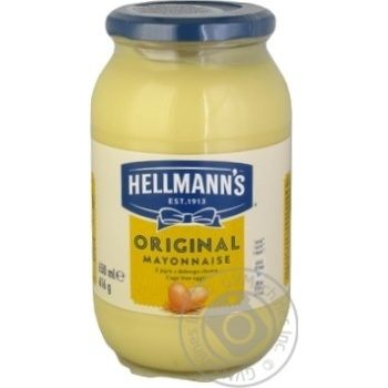 Mayonnaise Hellmanns 650ml - buy, prices for MegaMarket - image 1