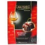 Конфеты Laroshell шоколадные с вишней и бренди 150г