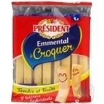 Сыр President Emmental Croguer 45% 144г