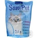 Наповнювач для котів Sani Pet сілікагелевий 3,8л