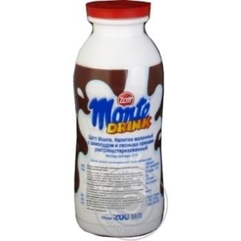 Zott Monte Milk drink Chocolate Nuts 1.8% 200ml - buy, prices for MegaMarket - image 2
