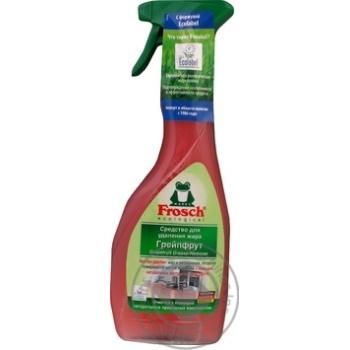 Очиститель Frosch Грейпфрут натур.экстракт универ 500мл - купить, цены на МегаМаркет - фото 2