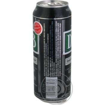 Пиво DAB темне фільтроване пастеризоване 4,9% 0,5л - купити, ціни на МегаМаркет - фото 3