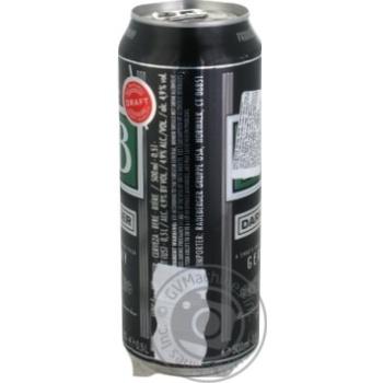 Пиво DAB темне фільтроване пастеризоване 4,9% 0,5л - купити, ціни на МегаМаркет - фото 2
