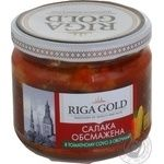 Ryzhske zoloto with vegetables in tomato sauce fish sprat 280g