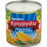 Vegetables corn Babusyn product Sugar canned 340g can