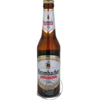 Пиво Krombacher Pils безалкогольное 0,33л