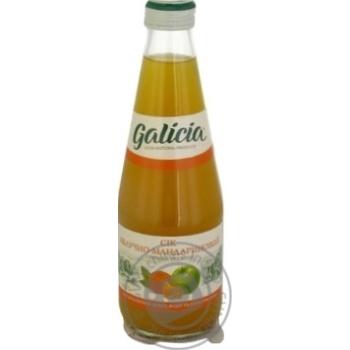 Сок Galicia яблочно-мандариновый 300мл - купить, цены на Ашан - фото 2