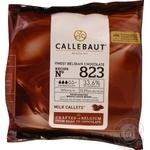 Callebaut milk callets chocolate 33,6% 400g