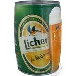 Beer Licher wheat 5.4% 5000ml can