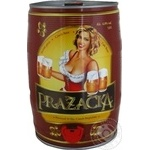 Prazacka light beer 4% 5l