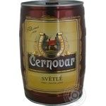Beer Cernovar light 4.9% 5000ml can Czech republic