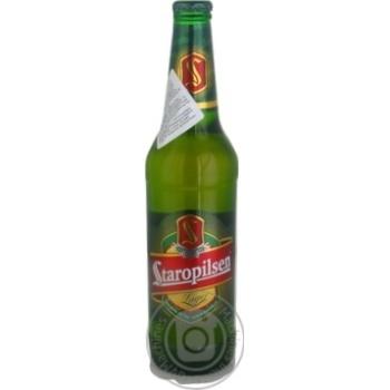 Пиво Staropilsen Lager 4,7% 0,5л - купить, цены на Novus - фото 2