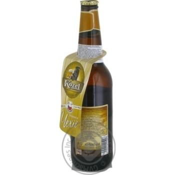Kozel Premium Lager Light Foltered Beer 4.5% 0.5l - buy, prices for MegaMarket - image 2