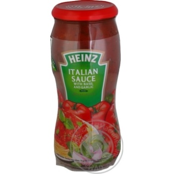 Sauce Heinz Italian with basil 500g - buy, prices for Novus - image 1
