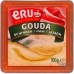Cheese Eru ham processed 45% 100g - buy, prices for Novus - image 1