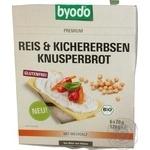 Crispbread Byodo rice with chickpeas 120g