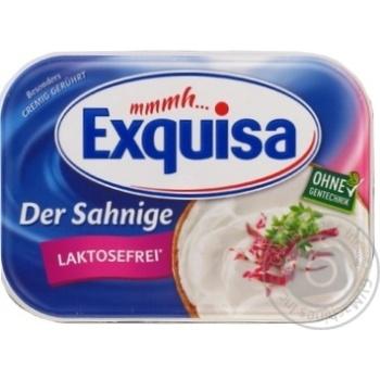 Сир Exguisa вершковий без лактози 70% 175г - купити, ціни на МегаМаркет - фото 1