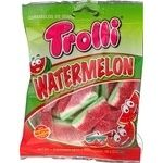Конфеты Trolli Арбуз фруктовые жевательные 100г