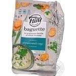 Сухарики Flint Baguette пшен вкус слив соус с зел 110г