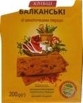 Хлібці Зерновита балканські 200г