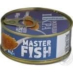 Ікра оселедця Master Fish пробійна 80г