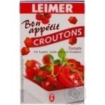 Сухарики Leimer Croutons зі смаком томату 100г x10