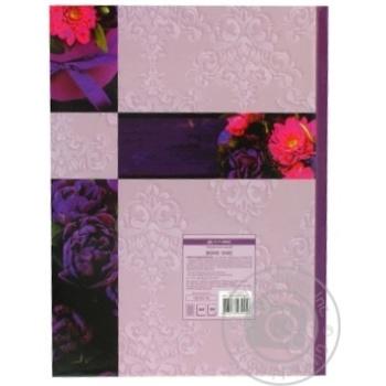 Книга обліку BOHO CHIC 96 арк/кліт.оф.тв. лам. обкл, А4, асс BUROMAX - купити, ціни на Novus - фото 2