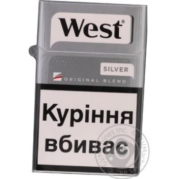 Цигарки West Silver KS 20 - купити, ціни на Фуршет - фото 1