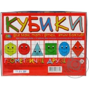 Кубики Геометрические друзья - купить, цены на Novus - фото 4