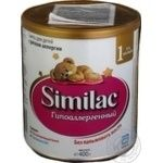 Substitute for breast milk Similac milky for children from birth 400g can