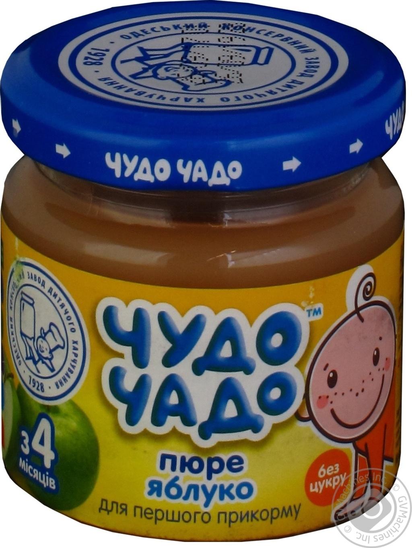Дитяче харчування для дітей з 3-х місяців Чудо-Чадо Пюре з яблук натуральне d14fc8dab58d8