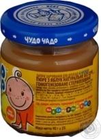 Дитяче харчування для дітей з 3-х місяців Чудо-Чадо Пюре з яблук натуральне  без цукру 90г ce2a4ae66adc8