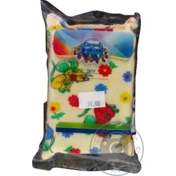 Мочалка для тела Canpol Babies 43/103 махровая - купить, цены на Таврия В - фото 1