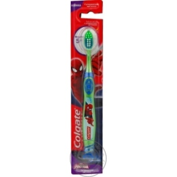 Зубная щетка Colgate Barbie/Batman детская супермягкая 5+ - купить, цены на Фуршет - фото 2