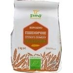 Мука Екород пшеничная органическая грубого помола 1кг