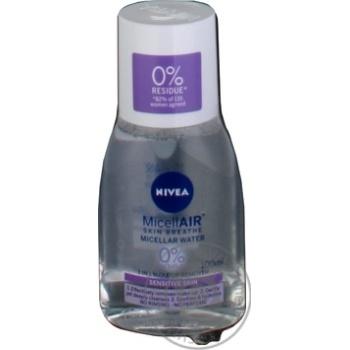 Міцелярна вода Nivea MicellAIR для чутливої шкіри 100мл