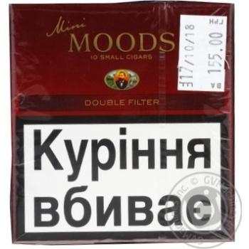 Сигары Moods Mini Double Filter
