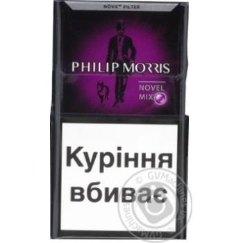 Сигареты Philip Morris Novel Mix 20шт - купить, цены на Фуршет - фото 1