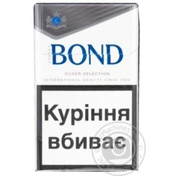 Цигарки Bond Street Silver Selection - купити, ціни на Фуршет - фото 2