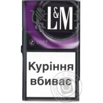 Цигарки L<(>&<)>M LOFT MIX