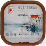 Сельдь Flagman филе-кусочки в масле 200г Украина