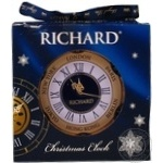 Чай черный Richard Christmas clock ж/б 20г